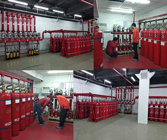 数据中心机房气体灭火系统安装