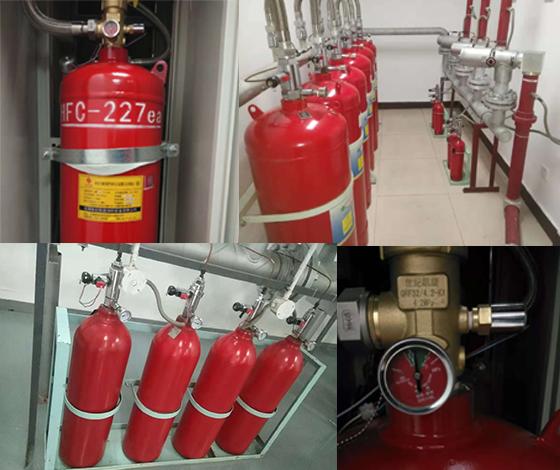 气体消防钢瓶检测充气
