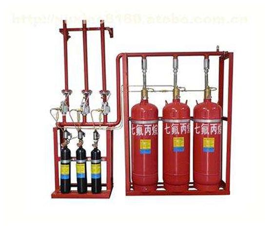 七氟丙烷系统安装、调试、使用、维护