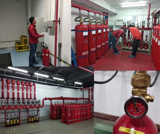 气体灭火系统的保养及维护