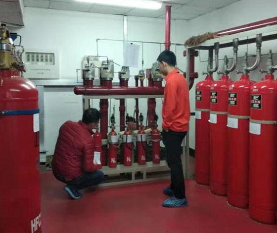 七氟丙烷灭火系统的简单维修和保养